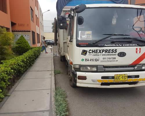 empresa de transporte chexpress agencia de santa ana