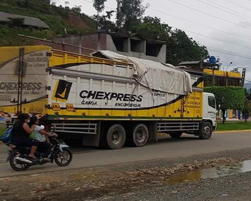 empresa de transporte chexpress agencia en mazamari