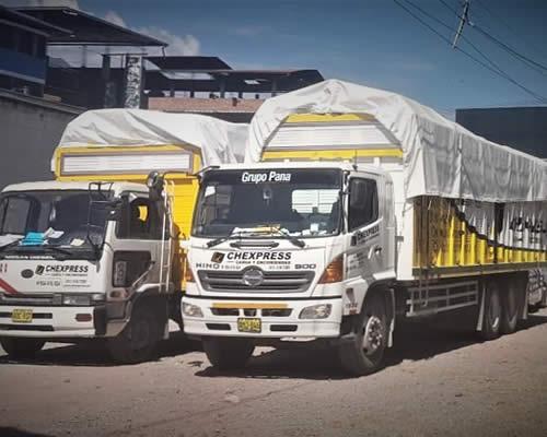 empresa de transporte chexpress agencia en pangoa