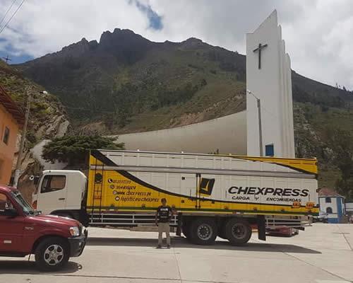 empresa de transporte chexpress agencia en pichanaki