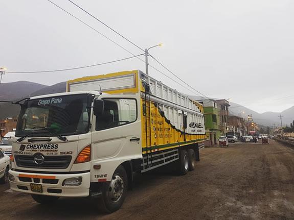 transporte de carga lima barranca, encomiendas, mudanzas, paquetes, carga pesada y liviana